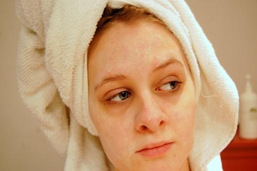 ansigtsmaske til sart hud