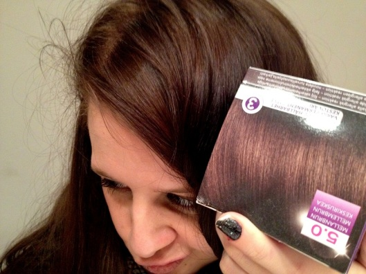 farv dit hår mørkt
