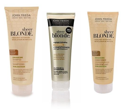 Billig John Frieda til blond hår