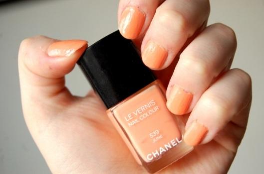 neglemode forår 2012 Chanel