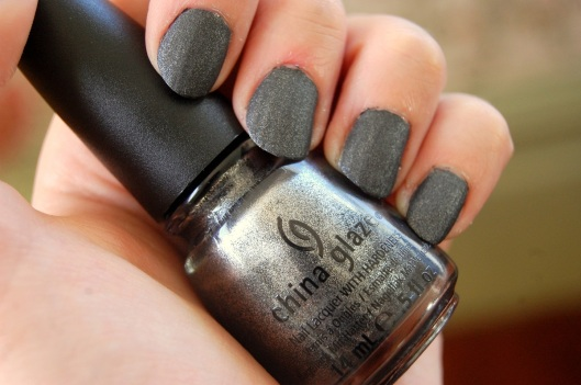 The Hunger Games District 2 nail polish China Glaze