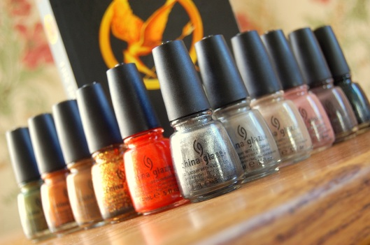 The Hunger Games neglelak China Glaze