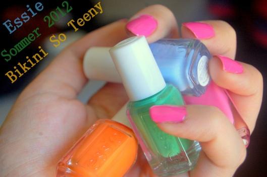Sommerfarver fra Essie sommer 2012